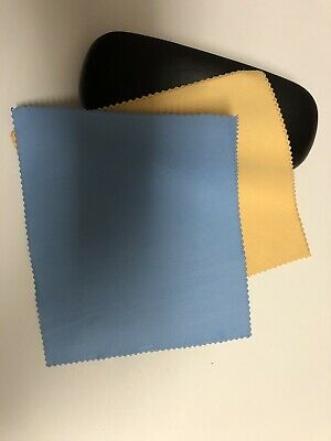 - SALE - 100 Pieces Suede Style Microfiber Cleaning Cloth for Eye Glass