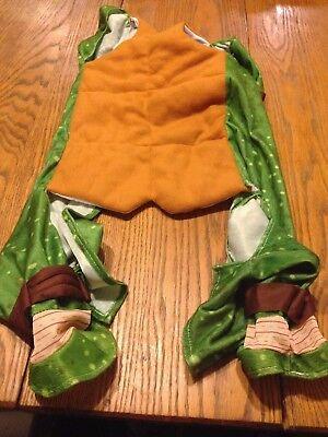 B66 TMNT Teenage Mutant Ninja Turtles Halloween Pet Dog Costume XL No Shell