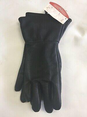 Sullivan Glove Co. Men's Cowhide Gauntlet Gloves Black MADE IN USA