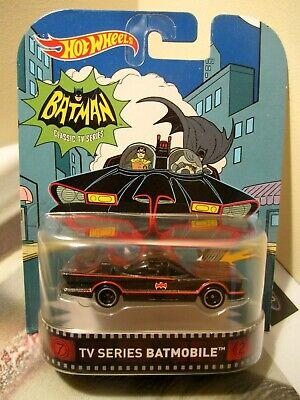 Hot Wheels Retro Entertainment Batman Classic TV Series Batmobile