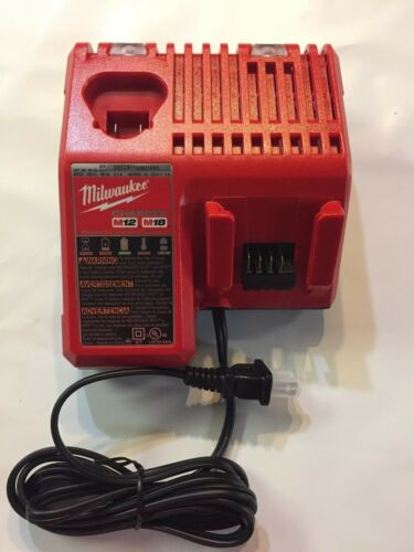 Milwaukee Genuine M18 M12 volt Lithium Charger 48-59-1812  BRAND NEW