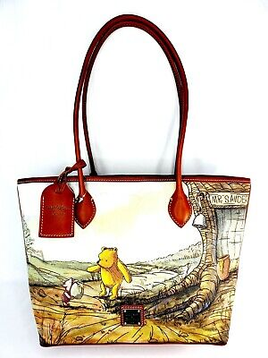 New Disney Parks Dooney & Bourke Winnie The Pooh Tote Handbag Purse Bag