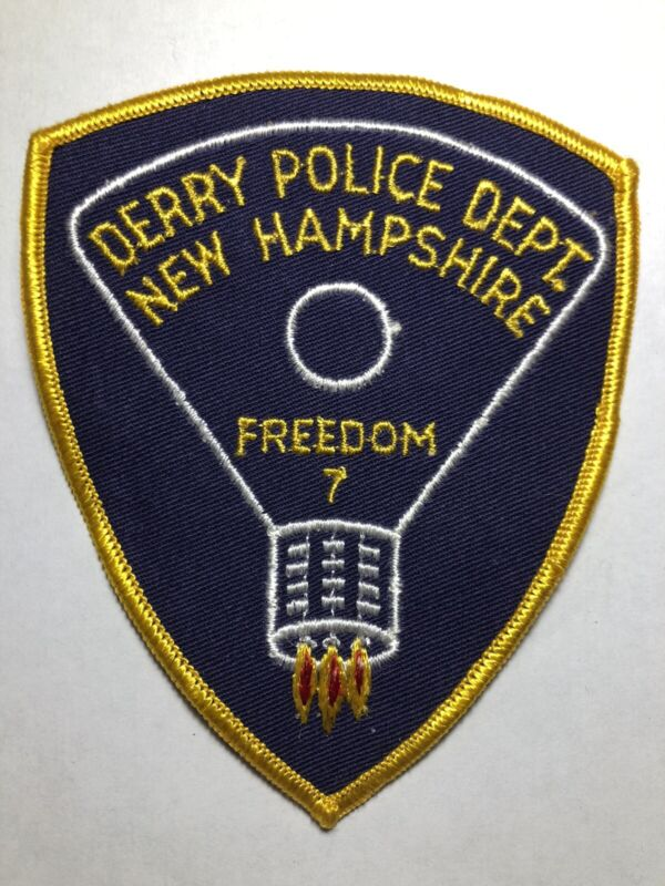 Derry New Hampshire Police Patch ~ Obsolete