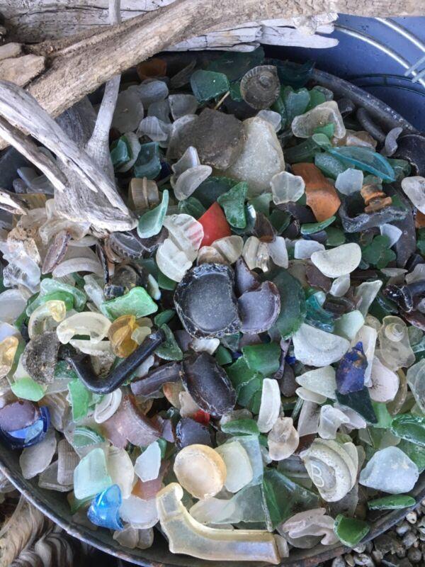Beach Sea Glass 8# vintage 1950 mosaic craft decor Free Shipping