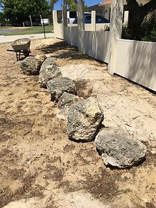 Limestone rocks Bull Creek Melville Area Preview