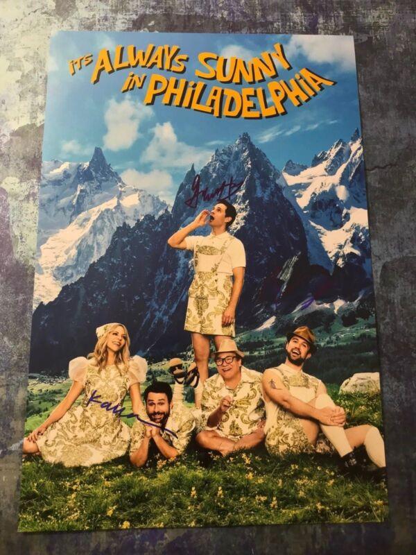 Dennis Mac Dee * IT'S ALWAYS SUNNY IN PHILADELPHIA * Signed 12x18 Photo S3 COA