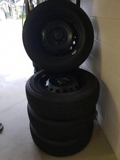 Hilux wheels and tyres Cairns Cairns City Preview