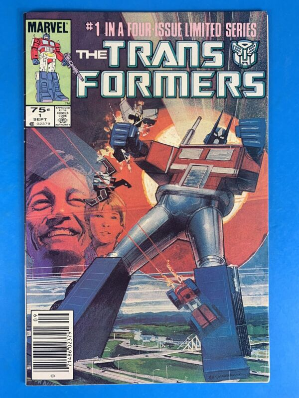 The Transformers #1 🔑🔥🔥