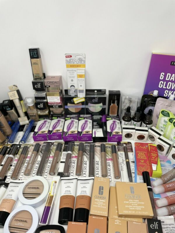 Makeup Mixed Wholesale Bundle  Lot Of 15 Piece Count Covergirl/elf/skin Care