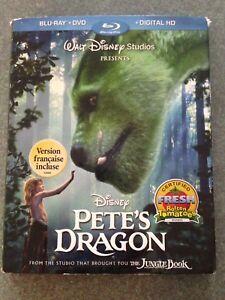 Disney Pete's Dragon blu-ray and DVD mint