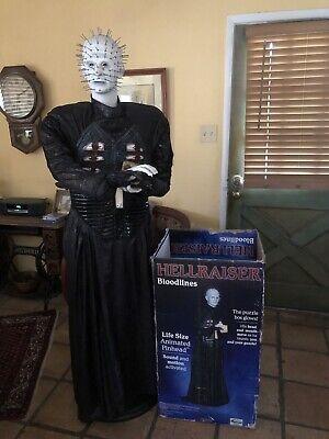 Gemmy Halloween Life-Size 6ft PINHEAD from Hellraiser