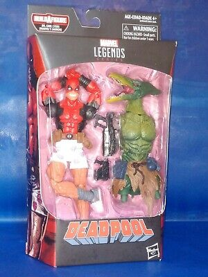 MARVEL LEGENDS DEADPOOL IN UNDERWEAR FIGURE HASBRO SAURON HEAD & TORSO BAF NEW