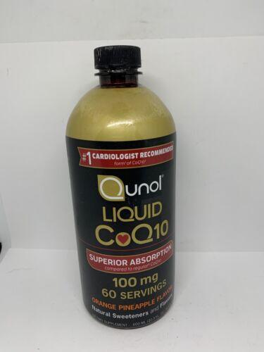 Qunol Liquid CoQ10 100 mg Supplement Superior Absorption NEW