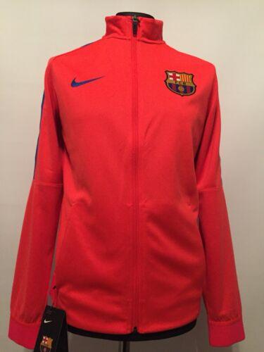 e7ec5d63cf82e6 Nike Herren Barcelona FCB Trainingsjacke Sportjacke Fussball Jacke Trikot M  XL