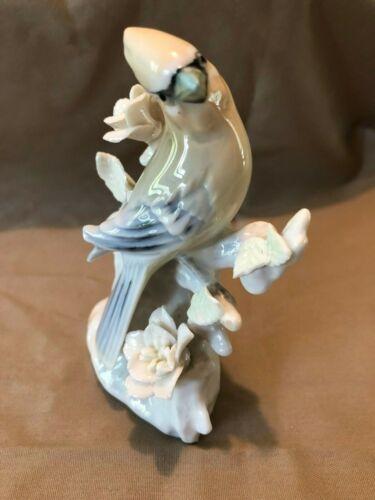 MINT WAXWING 6764 Bluebird Blue-jay Ceramic Figurine