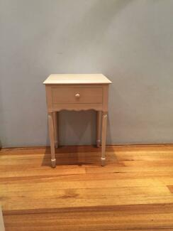 Laura Ashely Bedside Tables