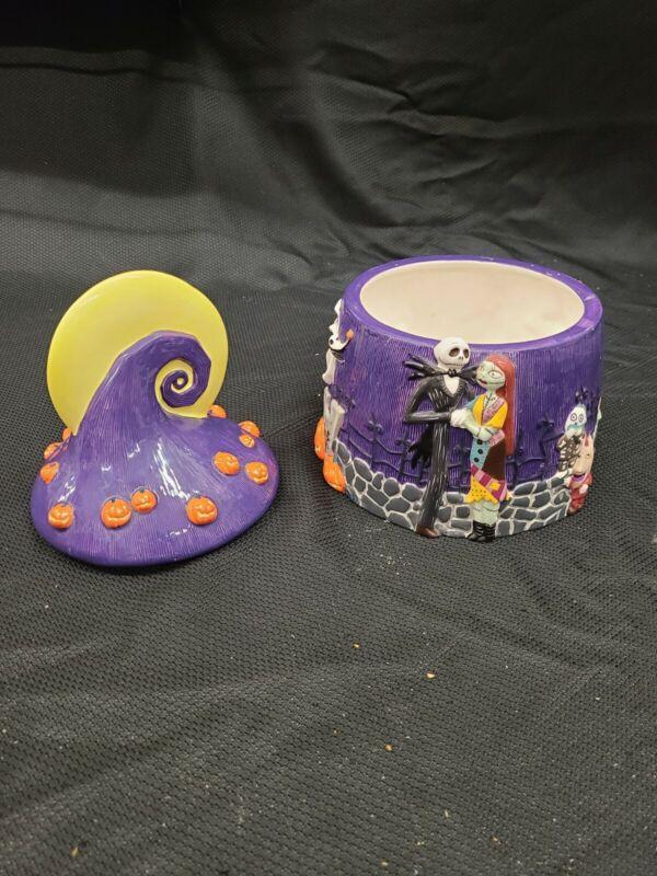 The Nightmare Before Christmas Cookie Jar Disney Jack Skellington Halloween
