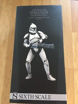 Sideshow Veteran Clone Trooper Deluxe 1/6 Militaries Of Star Wars Figure