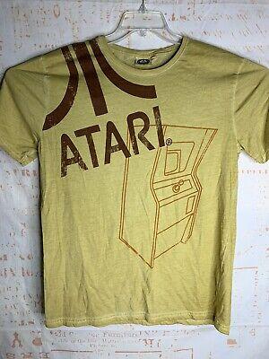Atari T Shirt Size XXL Vintage Look Brown Mustard Color Retro Gamer