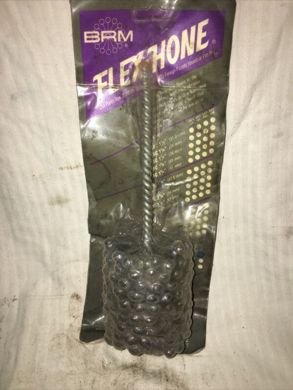 """2-1/2"""" Brm Flexhone 60grit Packages Have Been Wet"""