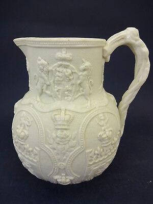 Commemorative Jug: 1863 Wedding Prince of Wales (Edward VII) to Alexandra