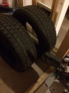 Two large winter tires