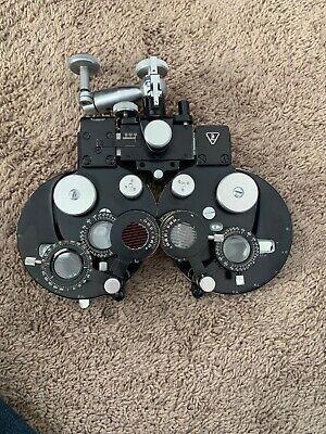 Bausch Lomb Refractor Phoropter Eye Exam Ocular Equipment Tool Optometrist