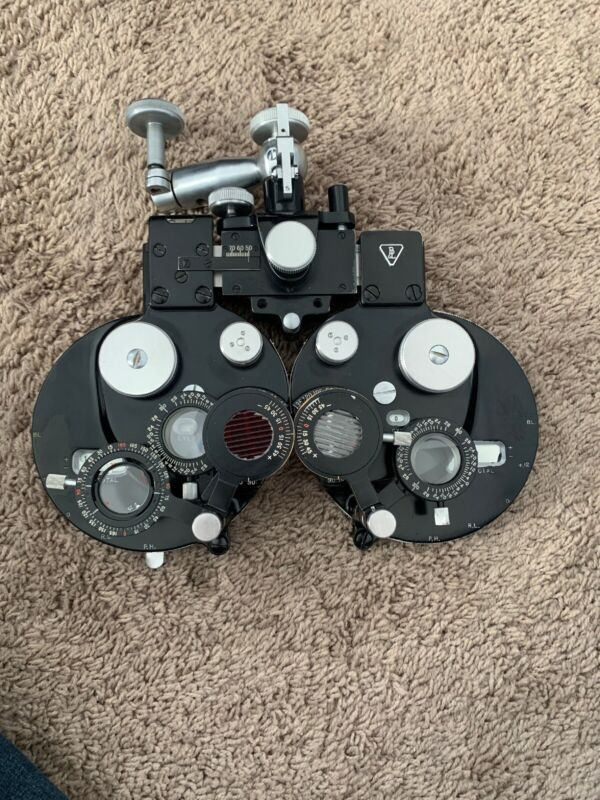 Bausch & Lomb Refractor Phoropter Eye Exam Ocular Equipment Tool Optometrist