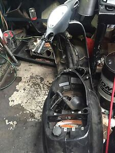 Vespa parts only black Marrickville Marrickville Area Preview