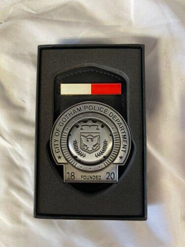 Batman City Of Gotham Police Department Badge Movie Prop Joker rare