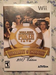 World Series poker for Wii