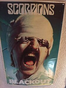 HUGE POSTERS COLLECTION FOR SALE ROCK HEAVY METAL