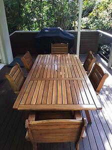 Solid Wood Saligna outdoor dining set Turramurra Ku-ring-gai Area Preview