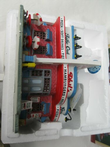 Lemax Christmas Village Phils Diner  Building 85688