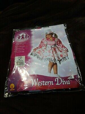 Rodeo Queen Costume (Western Diva Cowgirl Rodeo Queen Fancy Dress Up Halloween Child Costume 2-4)