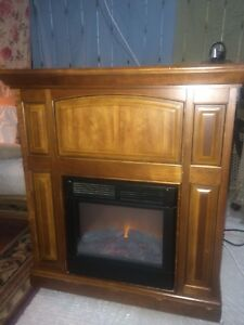 electric fire heater / foyer electrique
