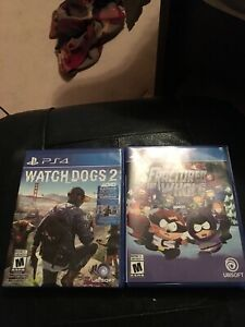 PS4 : South Park and watch dogs 2