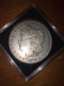 1878 Carson City silver dollar