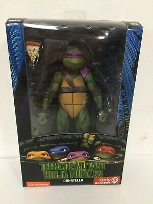 DONATELLO NECA TMNT Teenage Mutant Ninja Turtles GAMESTOP Exclusive 1990