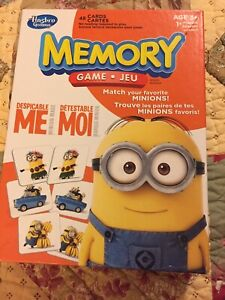 Despicable Me matching game