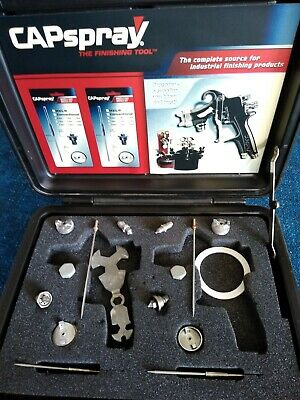 Capspray Case Assorted Accessories New Used Must See Low17x14 Case