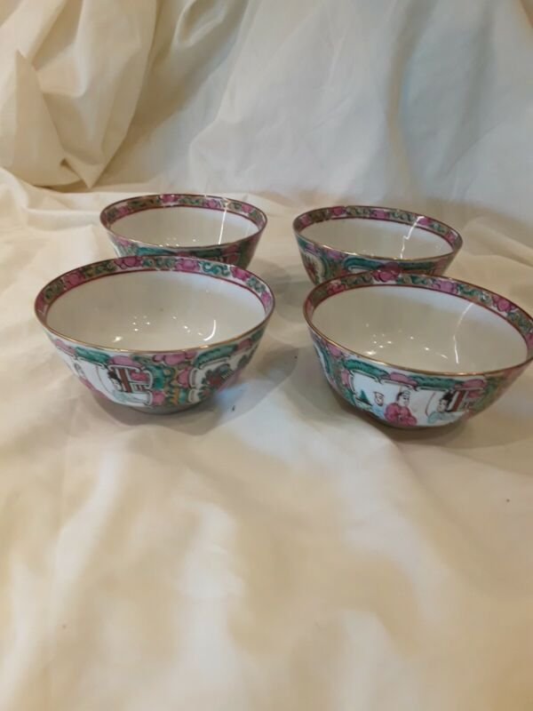 Rose Canton Rice  Or Soup bowls