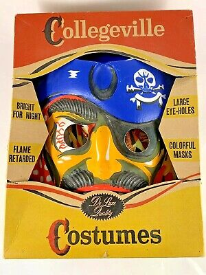 Vintage Collegeville Pirate Costume Adult Size M 15