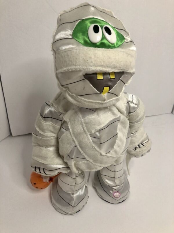 2004 Gemmy Halloween Animated Groovin Dancing Mummy Plays Shout Tested & Works