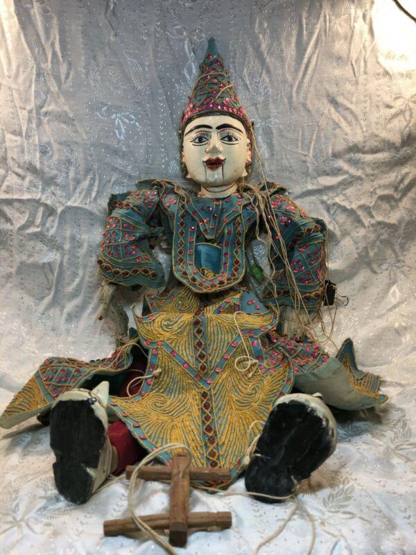 Vintage Burmese String Marionette