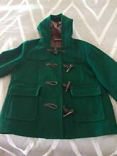 Women's Size 12 Green Pea Coat/Jacket Alderley Brisbane North West Preview