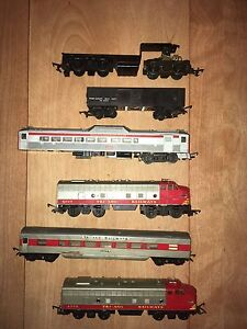 Vintage Tri-Ang trains, track , accesories