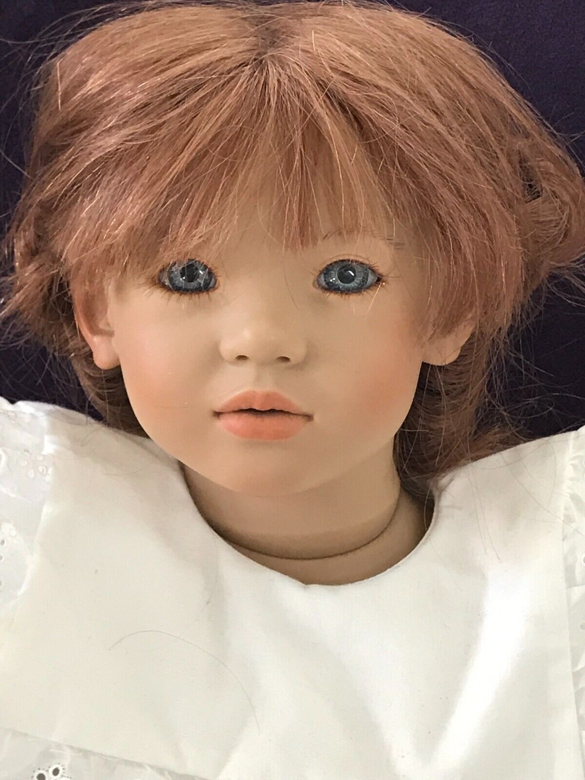 VTG 1991-92 Liliane by Annette Himstedt a Puppen Kinder doll w/box/COA by Mattel