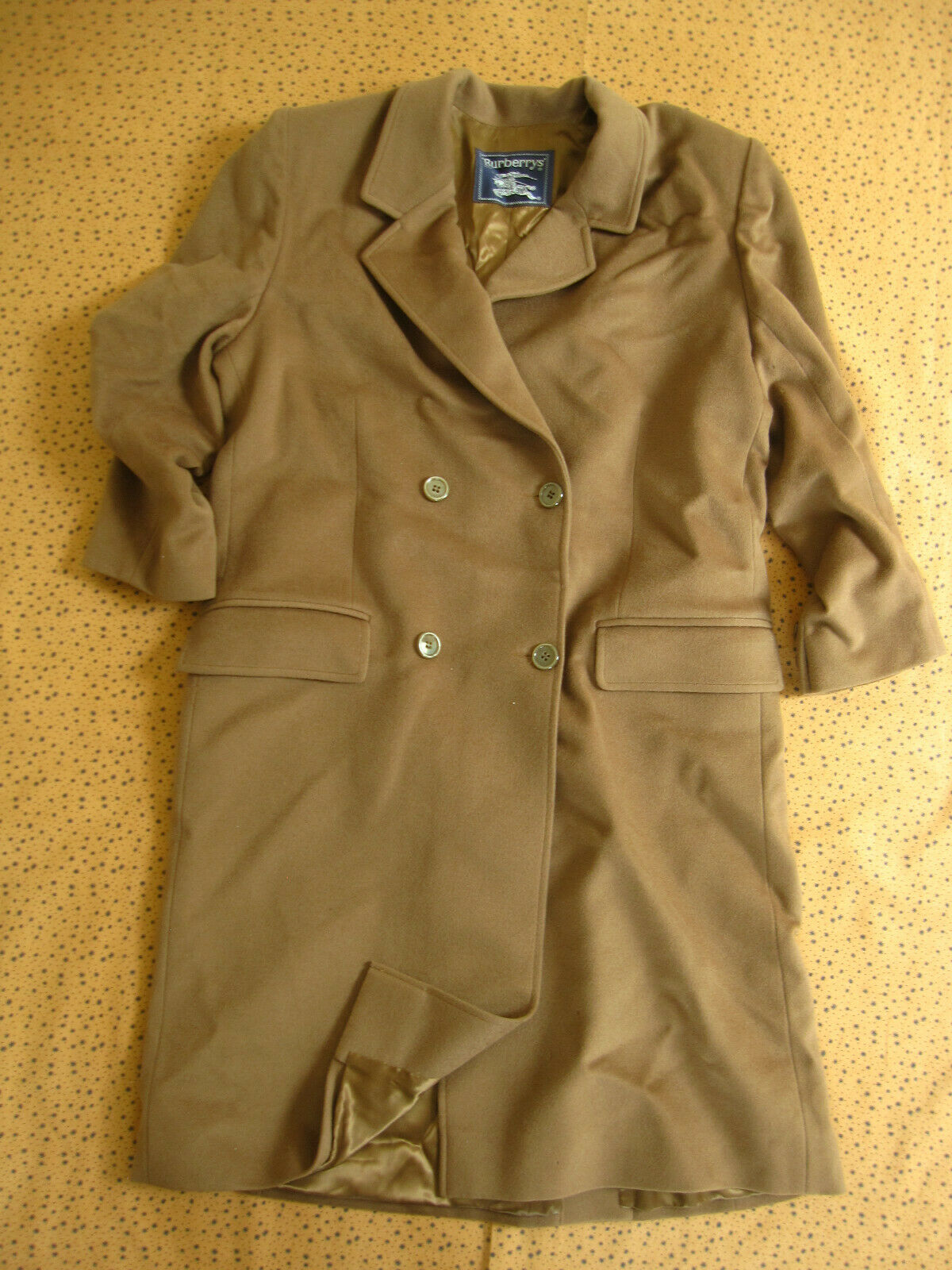 Burberrys trench coat made in england manteau marron vintage femme - 42