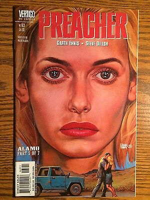 Preacher  63 Dc Vertigo Comics Amc 1St Print Nm Alamo Part 5